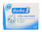 TETINE DODIE COL ETROIT 3 VITESSES 0-6 MOIS x2 à PARIS