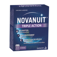 Novanuit triple action à PARIS