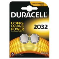 DURACELL Pile 3 v Lithium 2032 B/2 à PARIS