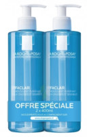 LA ROCHE POSAY LE LOT DE 2 effaclar gel moussant 400ml à PARIS