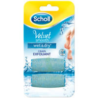 Scholl Velvet Smooth Wet&Dry Rouleaux de remplacement grain exfoliant à PARIS