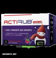 Santé Verte Actirub Sachets enfants - goût framboise à PARIS